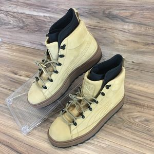 Puma The Ren NBK Boots Nubuck Taffy Suede Leather